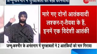 2 Lashkar-e-Taiba terrorists killed in encounter in J&K's Anantnag- All you need to know - ZEENEWS