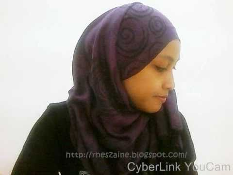 Tutorial : Hijab Short Pashmina Hana Tajima Simpsons
