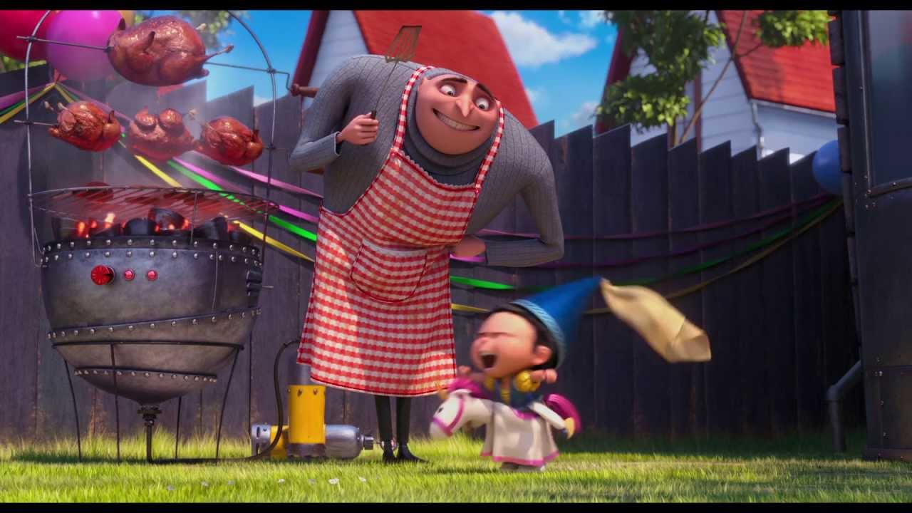 【Steve Carell 談Despicable Me 2】【Yao】