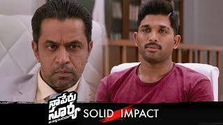 Naa Peru Surya Naa Illu India Solid Impact Promo 03 | Allu Arjun, Anu Emmanuel | Vamsi - TFPC