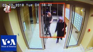 CCTV purportedly shows Khashoggi days and hours before his death - VOAVIDEO
