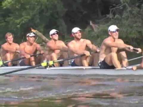 USA Olympic M8+ Morning Training Row