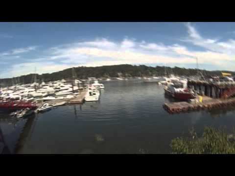 YONDER Day Trip to Ganges Harbour Salt Spring Island - 12 July 2014
