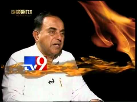 Dr Subramanian Swamy exposed Sonia Gandhi on TV9 (Full)