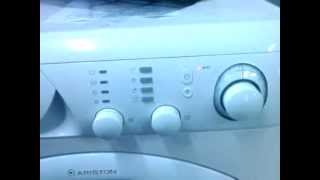 Bruksanvisning ariston vaskemaskin
