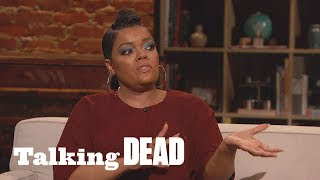 'A Lot of People Going to Die' Yvette Nicole Brown's Predictions Ep. 914 | Talking Dead - AMC
