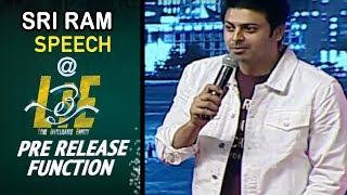 Hero Sriram Funny Speech at #LIE Movie Pre Release Event - Nithiin, Arjun, Megha Akash - 14REELS
