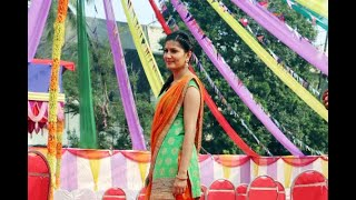 In Graphics: Abhay Deol and Bigg Boss fame Sapna Chaudhary shoot for Nanu Ki Jaanu - ABPNEWSTV