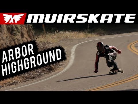 Arbor Highground Test Ride - MuirSkate Longboard Shop