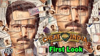 CHEAT INDIA First Look | Emraan Hashmi Unveils - BOLLYWOODCOUNTRY