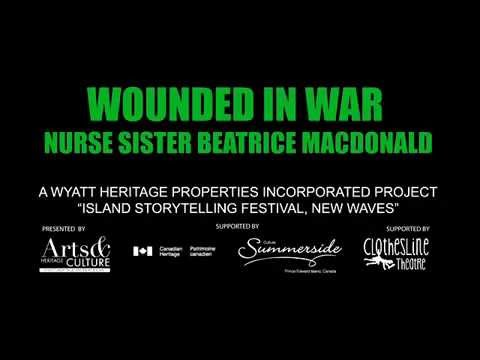 Wounded in War Nurse Sister Beatrice MacDonald