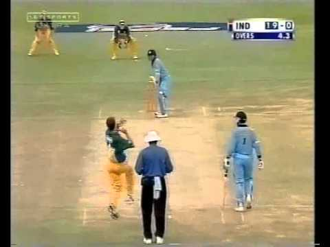 Tendulkar Smacking Glenn McGrath Around The Park