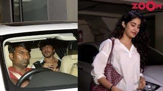 Shah Rukh Khan Spotted at Bandra & Janhvi Kapoor at Arjun Kapoor's home - ZOOMDEKHO