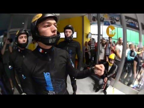1st FAI World Indoor Skydiving Championship - Highlights