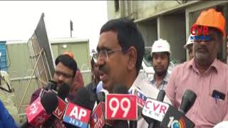 Minister Narayana Inspects Building Construction Works | Amaravathi | CVR NEWS - CVRNEWSOFFICIAL
