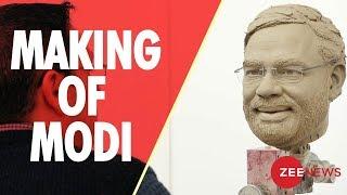 Watch making of Prime MInister Modi's statue at Madame Tussauds - ZEENEWS