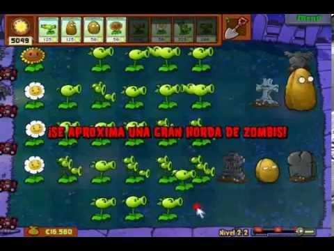 Plants vs zombies survival endless ep 1 eng