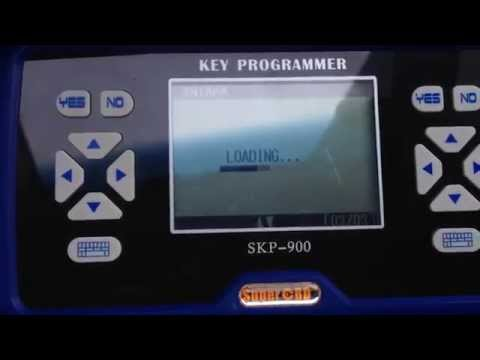 Real OPEL ANTARA Key Programming by SKP900 Key Programmer