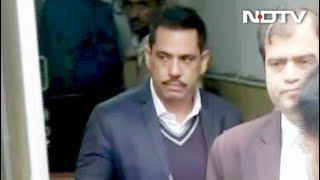 रॉबर्ट वाड्रा से ईडी की पूछताछ जारी - NDTVINDIA