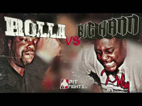PIT FIGHTS BATTLE LEAGUE: ROLLA VS BIG HANN ***TRAILER*** A TIME 2 KILL 2