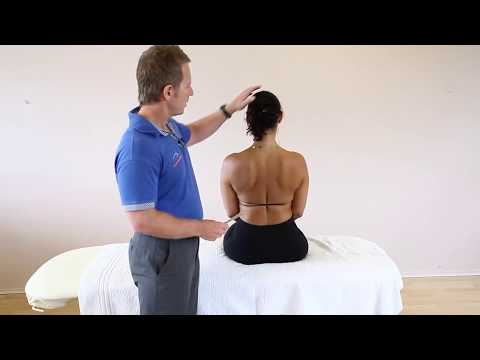 How to treat Neck and upper back pain using Kinesiology Taping techniques