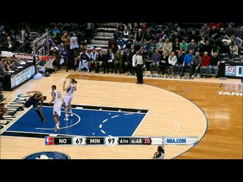 Anthony Davis Top 10 Plays of 2012-2013