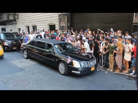 Fake Barack Obama Pranks New York City!