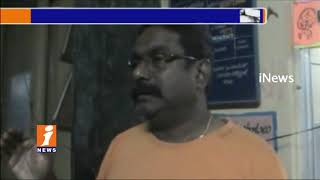 Kavali ASI Subramanyam Misbehave With One Town Police SI and CI | Nellroe | iNews - INEWS