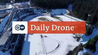 #DailyDrone: Ski Arena, Oberhof | DW Deutsch - DEUTSCHEWELLEENGLISH