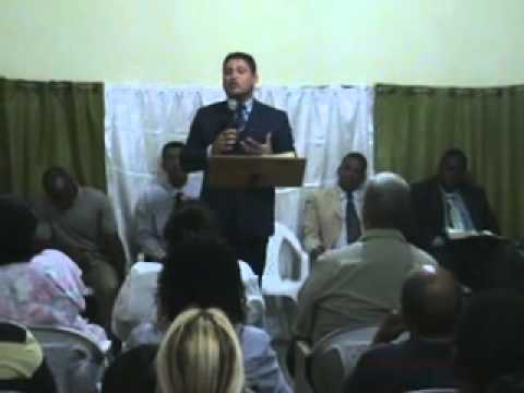 Pastor José Luiz Serafim pregando- os erros cometidos pelo Rei Saul -parte 1