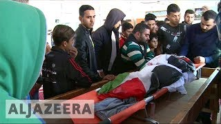 Funeral of Palestinian amputee killed by Israeli fire - ALJAZEERAENGLISH