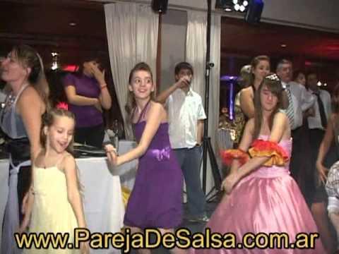 CLASE DE BAILE DIVERTIDA PARA FIESTAS, BAILARINES, PAREJA DE BAILE