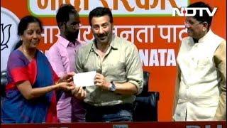 अभिनेता सनी देओल बीजेपी में शामिल, गुरदासपुर से लड़ सकते हैं चुनाव - NDTVINDIA