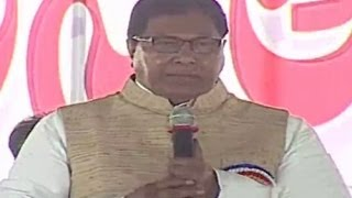 "Jana Reddy Speech at ""Telangana Journalists Jatara"" Meeting - TV5NEWSCHANNEL"