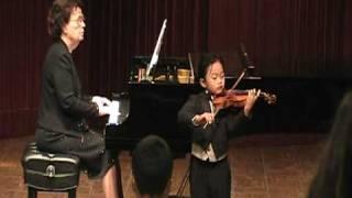 Bach violin concerto No.1 a minor 3rd movement allegro assai BWV