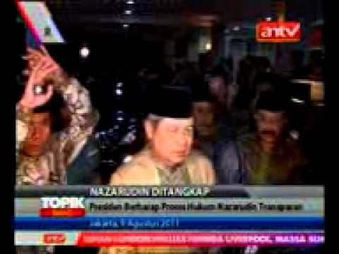 Nazaruddin Ditangkap antv