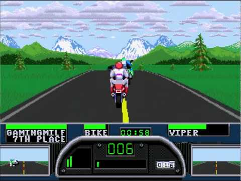 Road Rash II review on the Sega Mega Drive / Genesis!