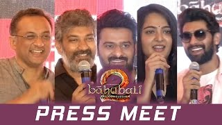 Baahubali 2 Movie Press Meet  | Airtel - The Baahubali Network Launch | TFPC - TFPC