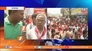 CPM Leader Madhu Face To Face On Maha Padayatra For Visakha Railway Zone | iNews - INEWS