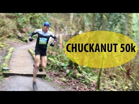 2017 Chuckanut 50km: Race clips from the lead pack and my VLOG intro