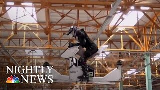 Soon You'll Be Able To Take Flight On A Hoverbike — For A Price | NBC Nightly News - NBCNEWS