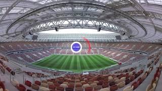 2018 FIFA World Cup: Moscow's Luzhniki Stadium (360 VIDEO) - RUSSIATODAY