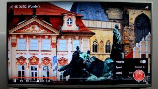 Review LG 43LH560V: Test WEB Browser, Youtube FullHD / 4K (43LH560)