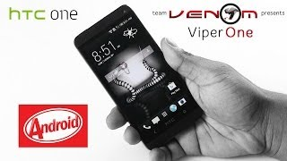 HTC One M7: How to Flash/Install Viper One - Amazing Cuztomization Options