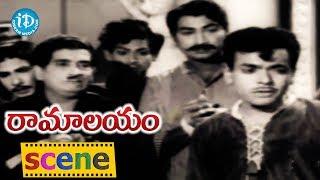 Ramalayam Movie Scenes - Shobhan Babu Comes To Know About Prabhakar Reddy's Reality || Jaggaiah - IDREAMMOVIES