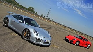Exploring the Porsche range - Cayman GTS, 911 GT3 and Panamera GTS