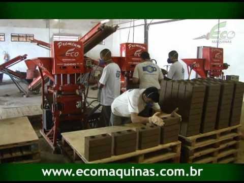 Tijolo Ecológico - Vídeo Institucional da Indústria Eco Máquinas
