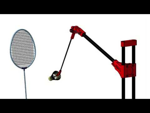 Smashmaster Badminton Training video