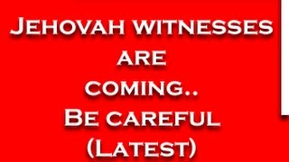 Telugu Christian SKIT (Short film) JEHOVAH WITNESSES ARE COMING.. BE CAREFUL (Latest) - YOUTUBE