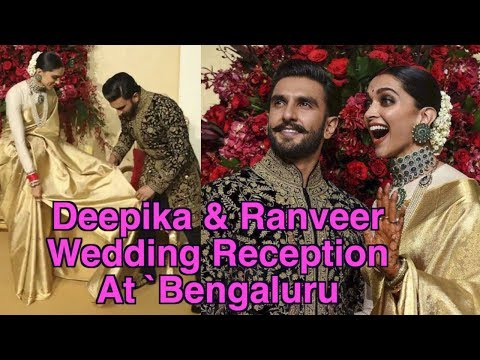 Deepika and Ranveer wedding reception party in Bengaluru | Deepveer